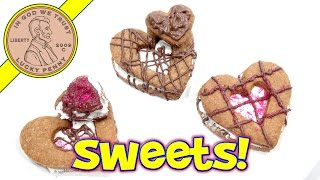 Valentine's S'mores Cookie Kit - I Make Sweet Hearts!