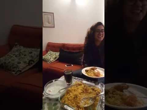 Lahori tries Karachi Biryani for the first time