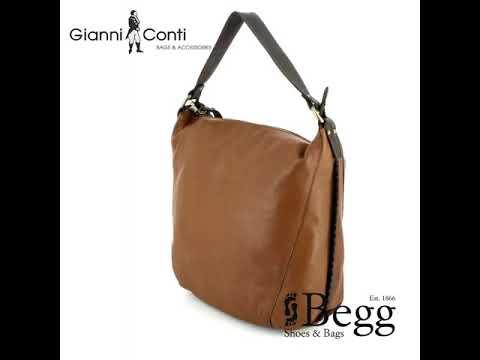 Gianni Conti Bucket Bag 1483744 21 Tan Handbag