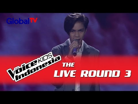 "Christo ""Set Fire To The Rain"" I The Live Rounds I The Voice Kids Indonesia GlobalTV 2016"