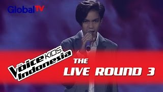 """Christo """"Set Fire To The Rain"""" I The Live Rounds I The Voice Kids Indonesia GlobalTV 2016"""