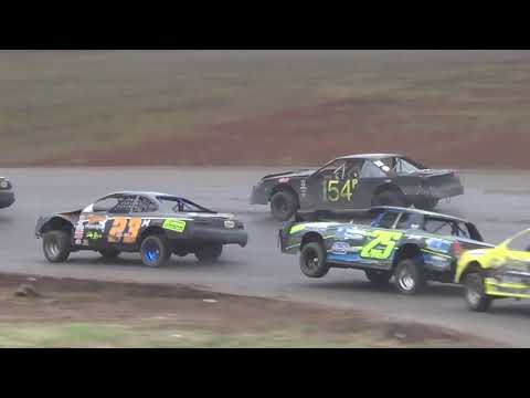 "Salina Speedway 6th Annual ""Mid America Clash"" IMCA Stock cars *A Feature* 9-30-18"