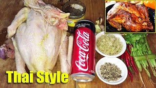 Roast Chicken Thai Style - Awesome Asian Food Cooking Recipes, Cambodian Food