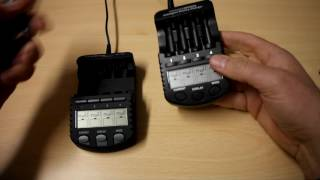 Battery Charger Review - The Technoline BL700N vs Youshiko YC4000