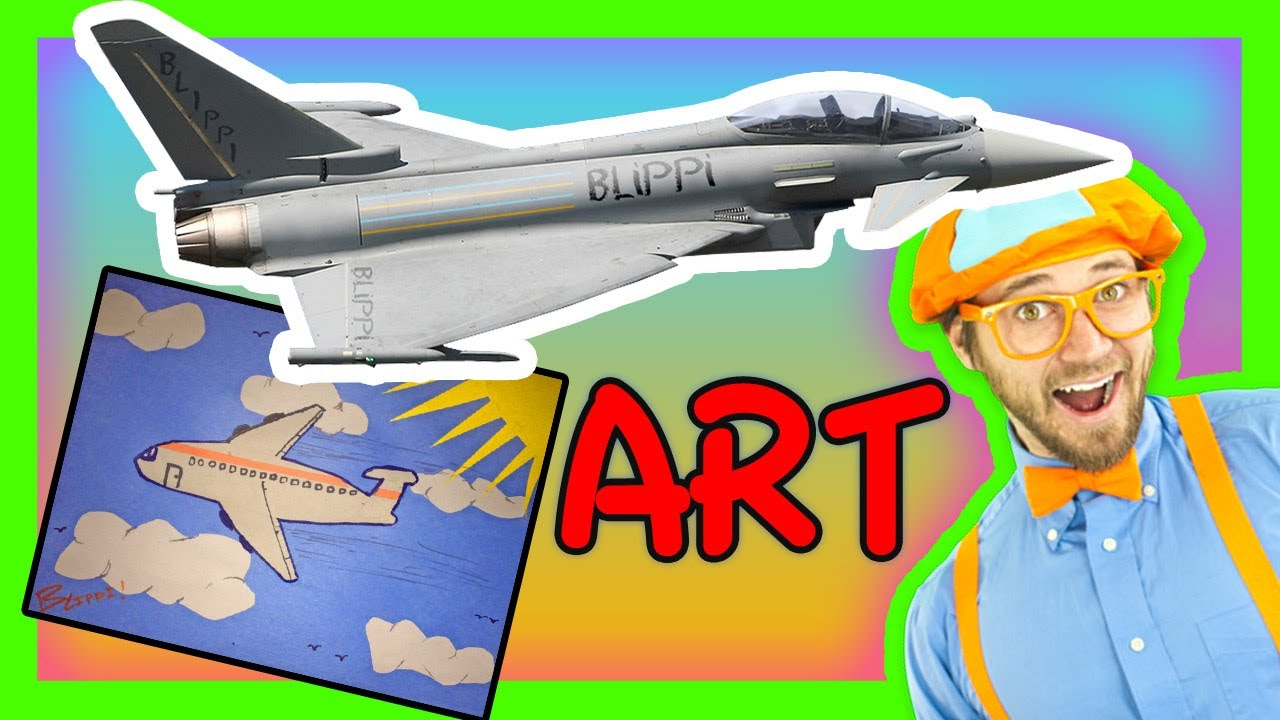 Crafts for kids airplanes for children youtube sciox Choice Image