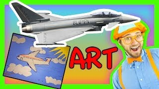 Crafts for Kids - Airplanes for Children