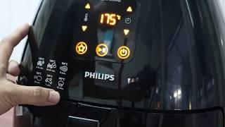 HƯỚNG DẪN SỬ DỤNG NỒI CHIÊN KHÔNG DẦU PHILLIPS HD9240