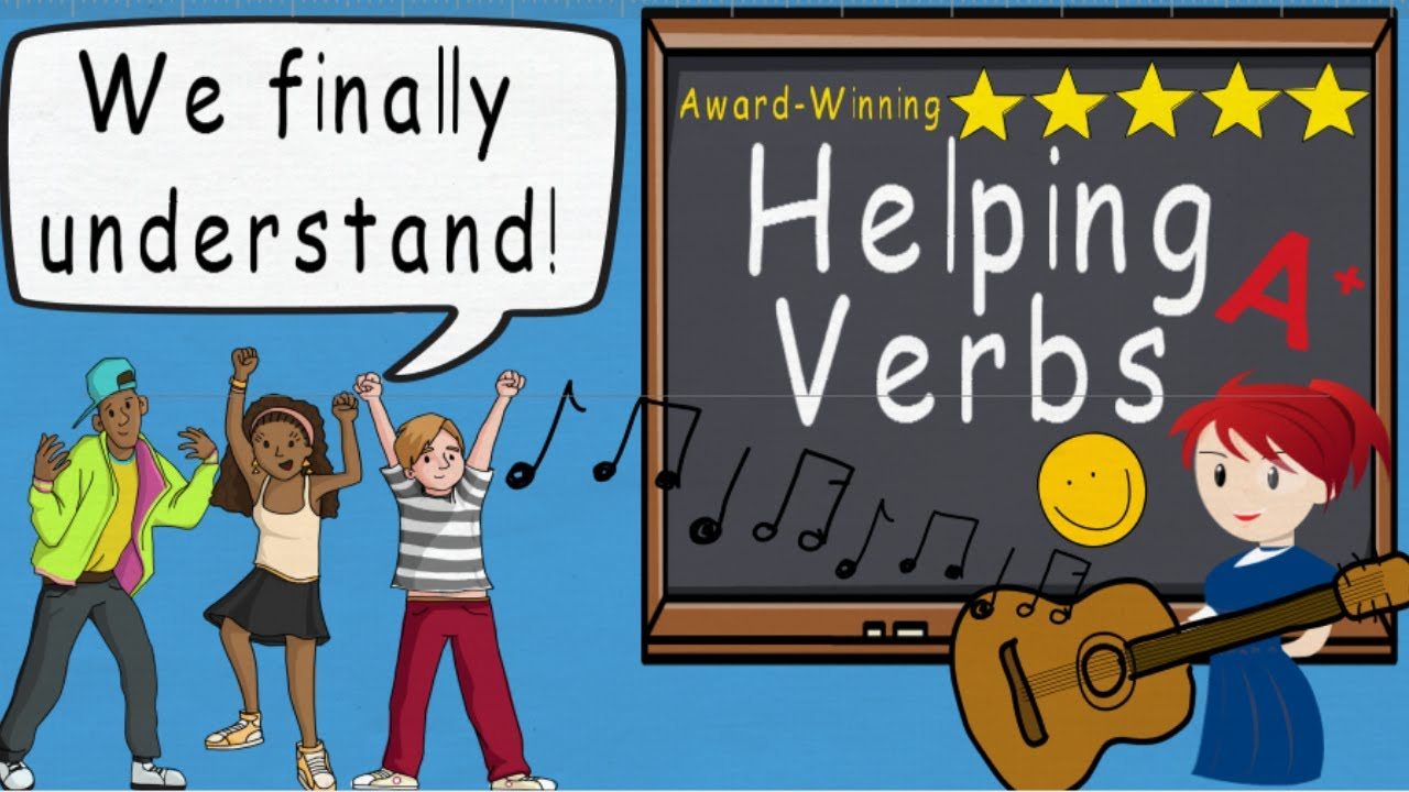 Helping Verbs Song Helping Verbs by Melissa YouTube – Main and Helping Verbs Worksheets