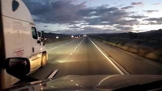 BigRigTravels LIVE! Emergency Trailer brakes repair in Las Vegas,  Nevada... Interstate 15 North