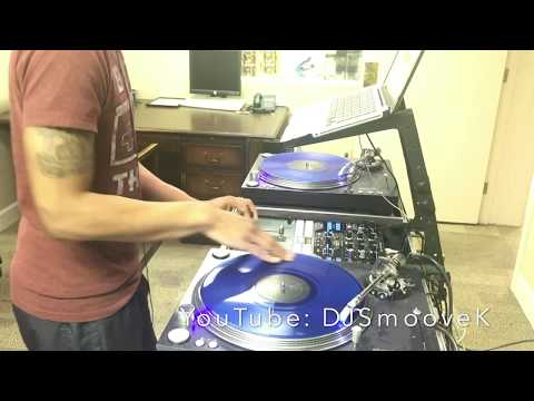 Dj Smoove K Live Hip Hop Freestyle Mix 4 (Serato) Pioneer DJM S9