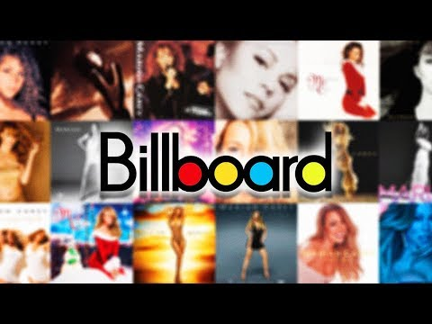 Mariah Carey - Billboard Top 200 Albums | Full Chart History (1990-2018)