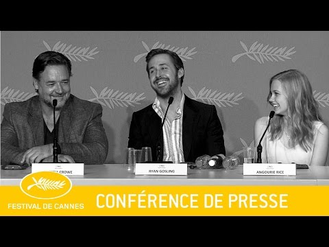 THE NICE GUYS - Press Conference -EV - Cannes 2016 streaming vf