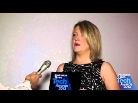 Francesca Keefe - winner of Best Use of Social Media