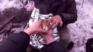 Картошка печеная на углях Очень вкусно