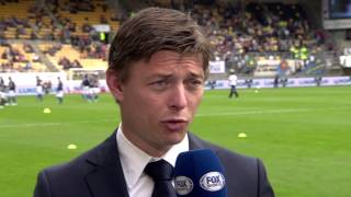 Jon Dahl Tomasson [pregame] Roda JC Kerkrade - RKC Waalwijk 30 maart 2014