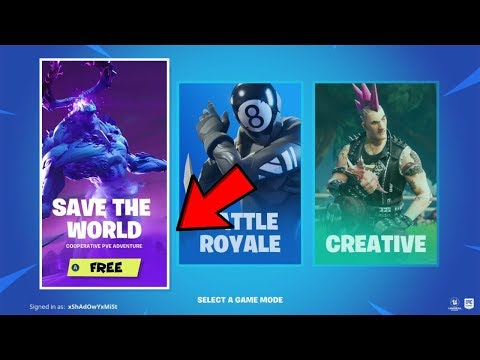 How To Get Fortnite Save The World Free! (XBOX, PS4, PC) *Chapter 2*