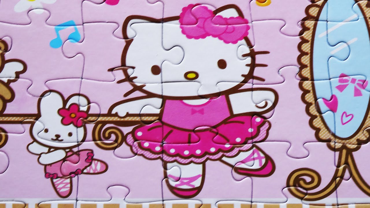 Uncategorized Games Puzzle Hello Kitty jigsaw hello kitty puzzle games rompecabezas de kids learn toys episodes video 2016