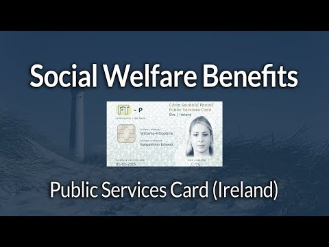 Removing Social Welfare benefits if not registered for Public Services Card in Ireland