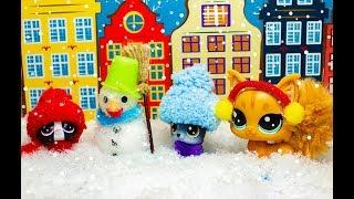 Minişler Kar Oynuyor
