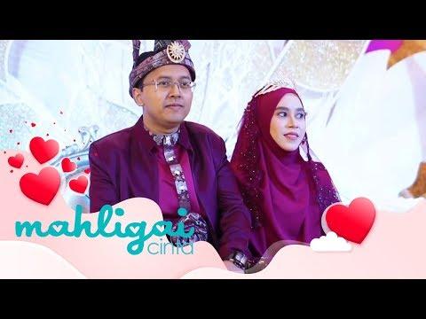 Mahligai Cinta (2019) - Dato' Ustazah Siti Nor Bahyah Mahamood & Suami Terima Menantu | Wed, Feb 20