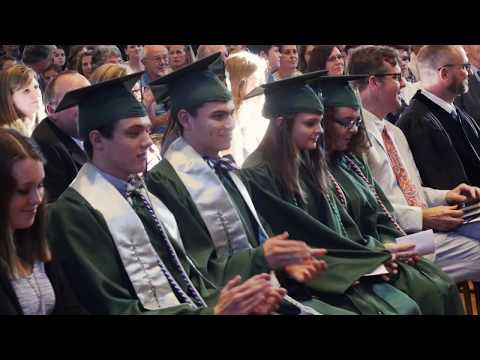 Oak Hill Classical School 2017 Inaugural High School Graduation