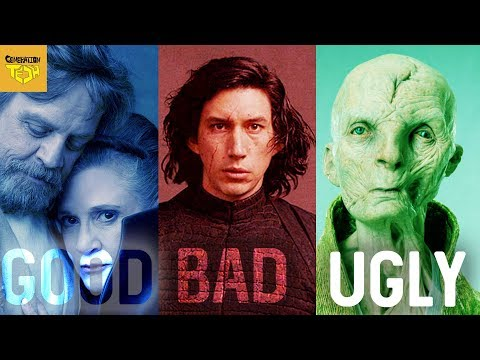 The LAST JEDI  THE GOOD, THE BAD, AND THE UGLY