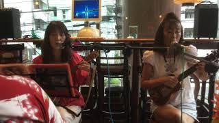 2017.8.13 横浜ウクレレオフ会にて ぶっつけ弾き語り(^_^メ) うみちゃん...