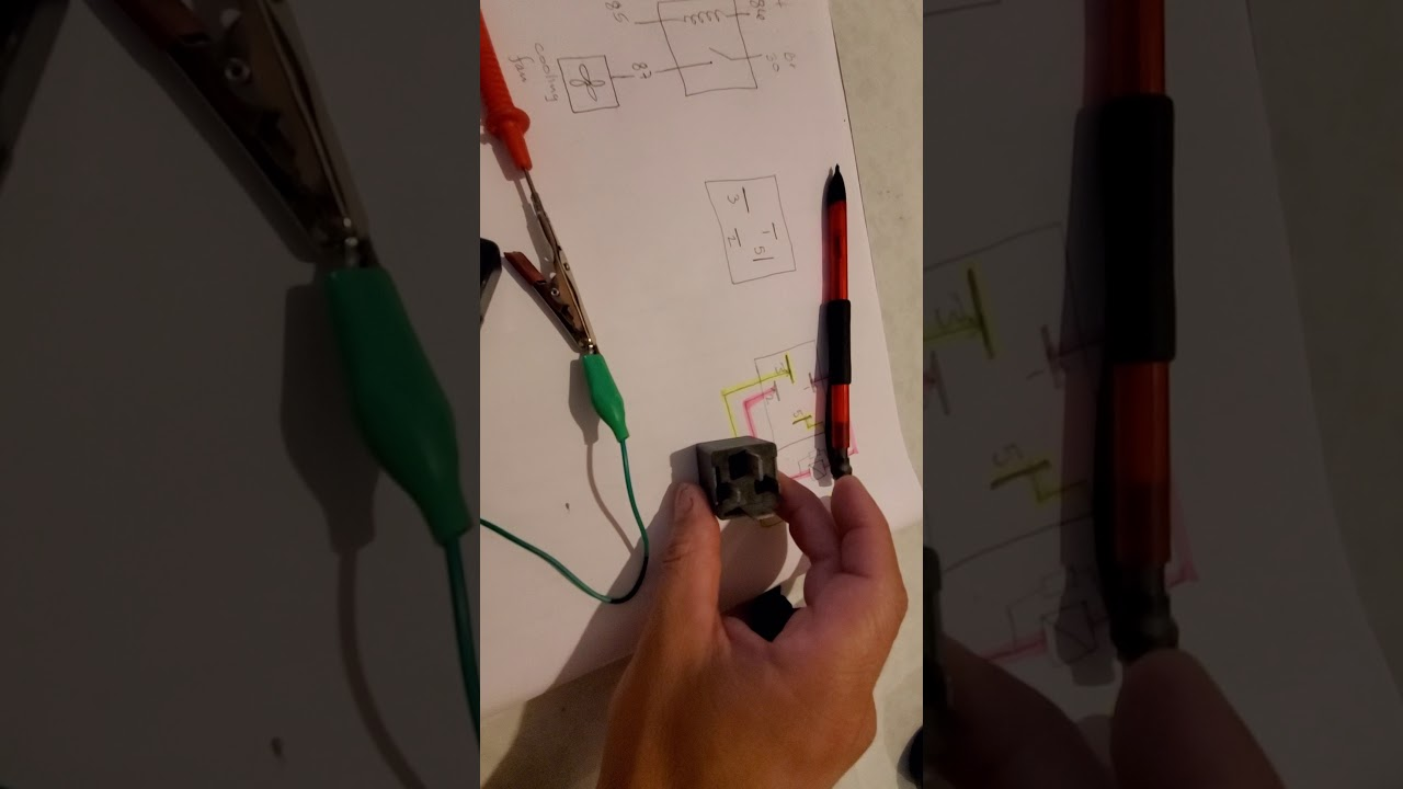 Easy Test 4 Pin Relay