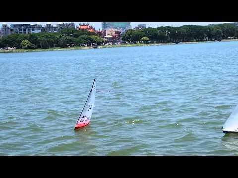 RC Sailing Lotus Pond Kaohsiung Taiwan