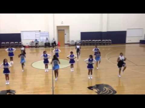 Sedgefield Middle School Cheerleaders and MLK Middle School