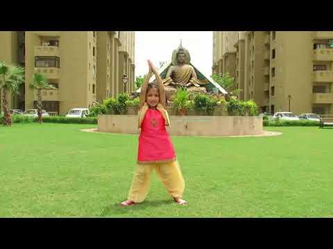 Sadda Dil Vi Tu Ganpati | ABCD | Easy Dance Steps | Aanya 4.5-year-old