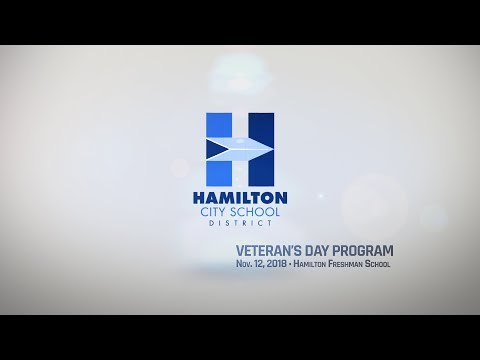 Hamilton Freshman School Veteran's Day Program
