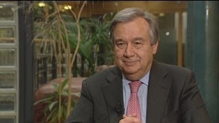 "euronews interview - António Guterres: ""we"