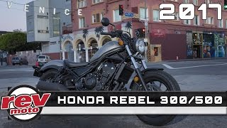 2017 honda rebel 300 500 review rendered price specs release date