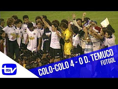 Colo-Colo 4 - 0 Deportes Temuco (Campeón Clausura 1997)   Futgol