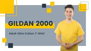 Gildan 2000 Adult Ultra Cotton T-Shirt | Blankapparel.ca