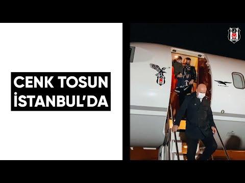 Cenk Tosun İstanbul'da🛬