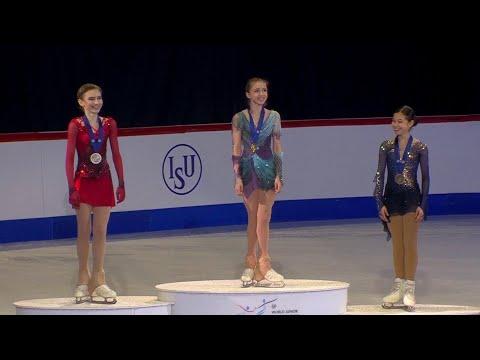 Триумфом российских фигуристов завершается юниорский чемпионат мира в Таллине.