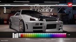 Super Street: The Game [PS4/XOne/PC] Customization Gameplay
