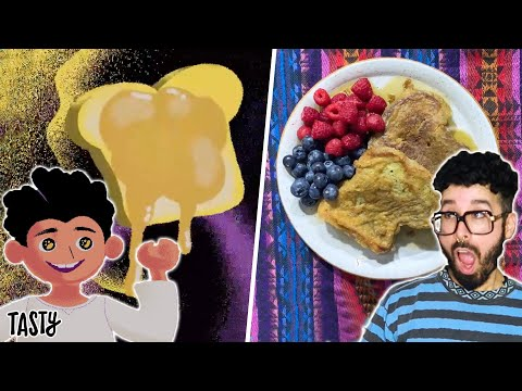 I Recreated My Favorite Childhood Treat (Salvadoran French Toast) • Tasty