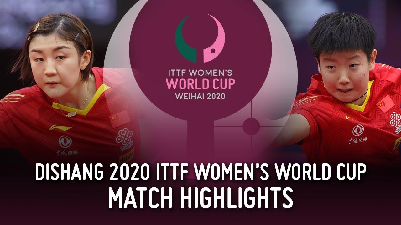 Download Chen Meng vs Sun Yingsha | 2020 ITTF Women's World Cup Highlights (Finals)