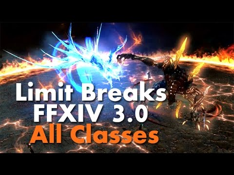 FFXIV 3.0 - New Limit Breaks (LB3) All Classes - Final Fantasy XIV ...