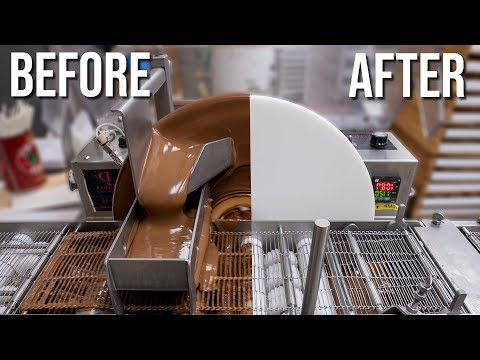 Before and After: Cleaning our Chocolate Enrober (2019)