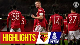Captain Scott McTominay sends the Reds through!   Manchester United 1-0 Watford   Emirates FA Cup