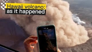 Lava in Hawaii - Kilauea Volcano Erupts - Day By Day Account