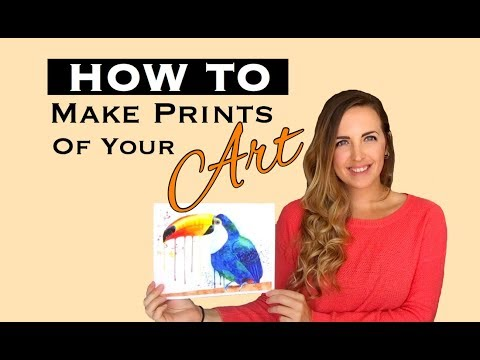How to Make Prints of Your Art