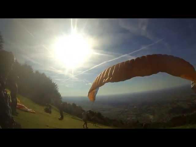 Paragliding Bassano del Grappa - 2014