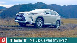 LEXUS RX 450hL AWD - SUV - TEST - GARAZ.TV - Rasťo Chvála