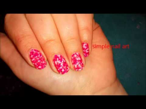 Simple Cheap Nail Polish Nail Art Youtube
