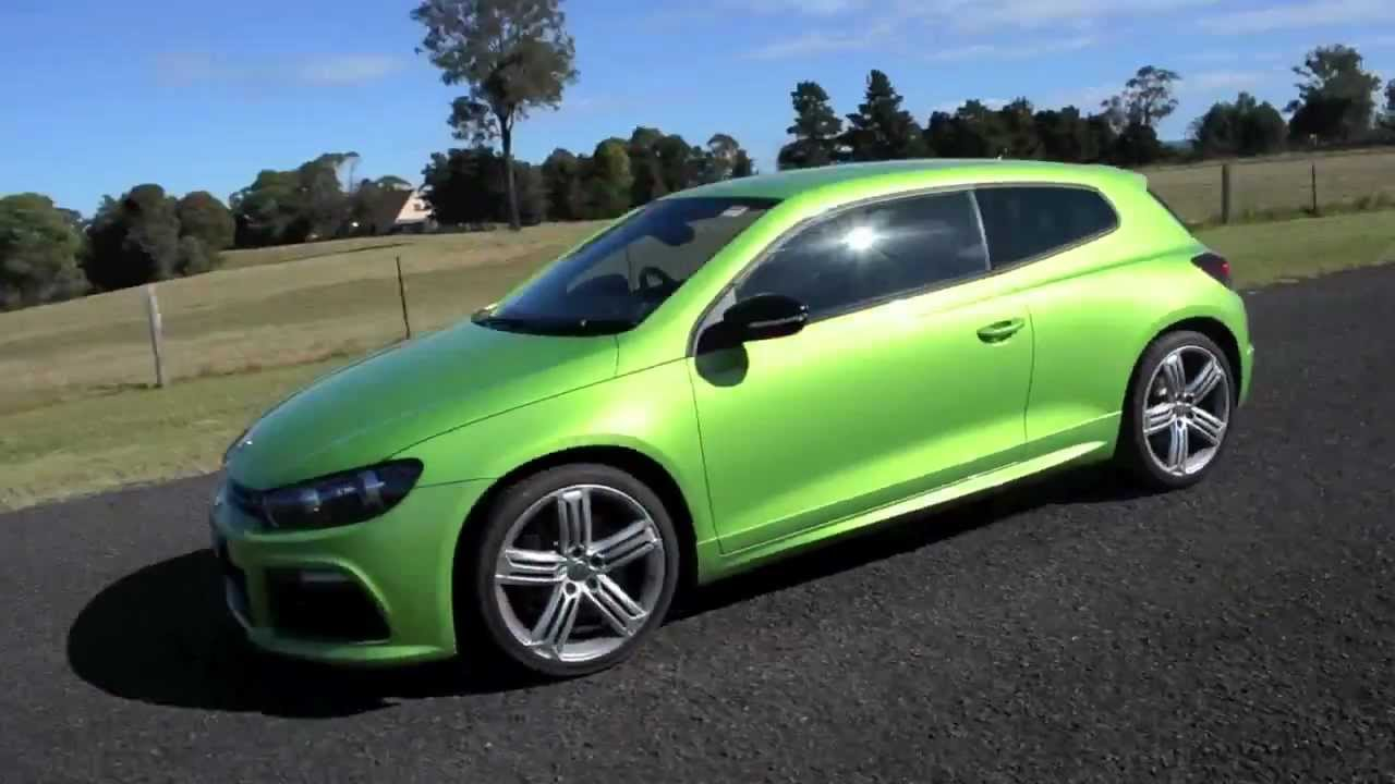 vw scirocco  green review youtube